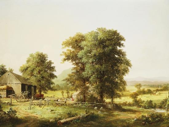 george-henry-durrie-summer-farm-scene