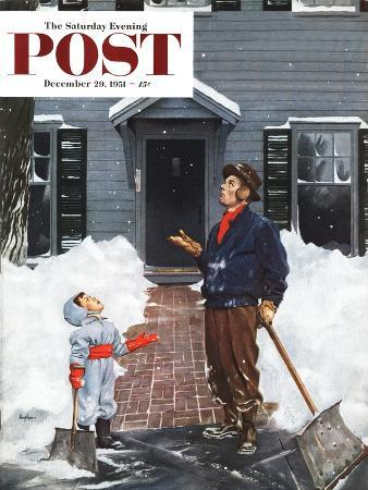 george-hughes-more-snow-saturday-evening-post-cover-december-29-1951