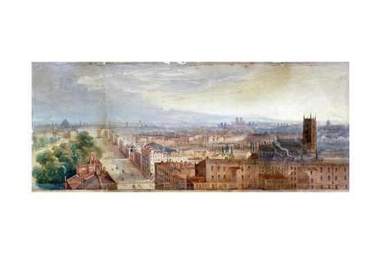 george-robert-vawser-aerial-view-of-knightsbridge-london-c1845