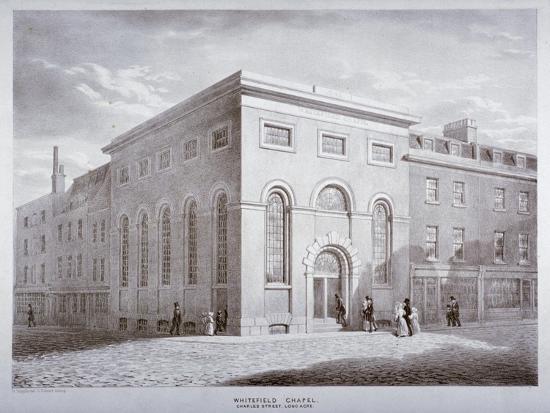 george-scharf-whitefield-chapel-on-charles-street-westminster-london-c1841