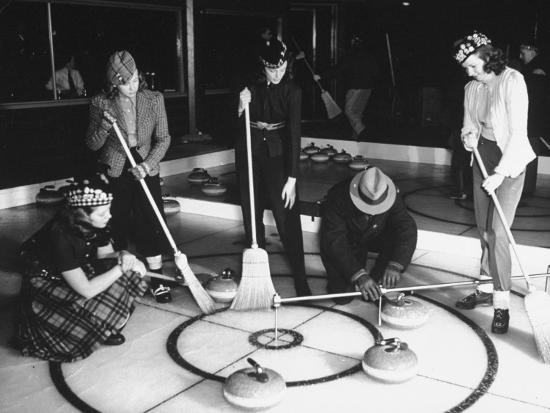 george-strock-a-view-of-people-playing-a-new-game-called-curling