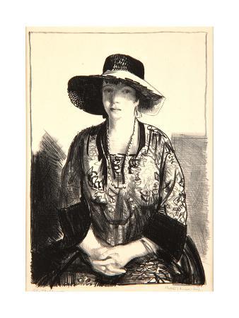 george-wesley-bellows-the-black-hat-1921
