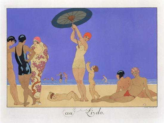 georges-barbier-at-the-lido-engraved-by-henri-reidel-1920-litho