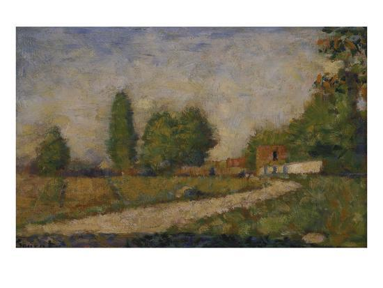 georges-seurat-landscape-in-the-surroundings-of-paris-about-1883