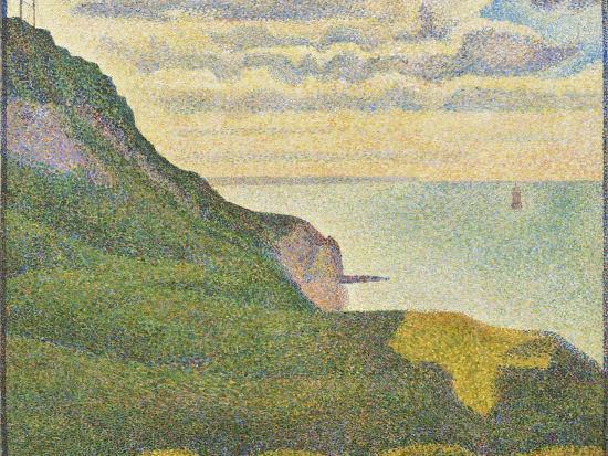 georges-seurat-seascape-at-port-en-bessin-normandy-1888