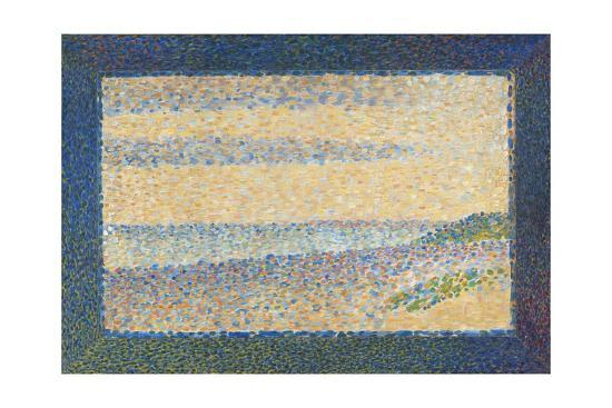 georges-seurat-seascape-gravelines-1890
