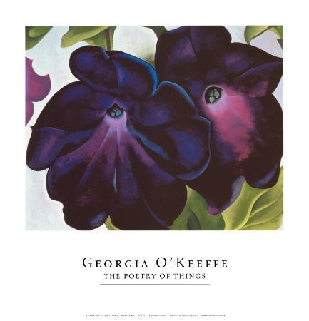 georgia-o-keeffe-black-and-purple-petunia-1925