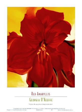 georgia-o-keeffe-red-amaryllis-1937
