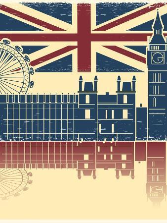 geraktv-vintage-london-poster-on-old-background-texture-with-england-flag