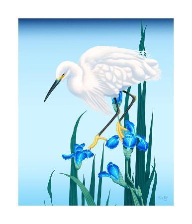 gerard-kelly-spring-egret-detail