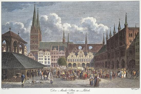 germany-lubeck-marktplatz
