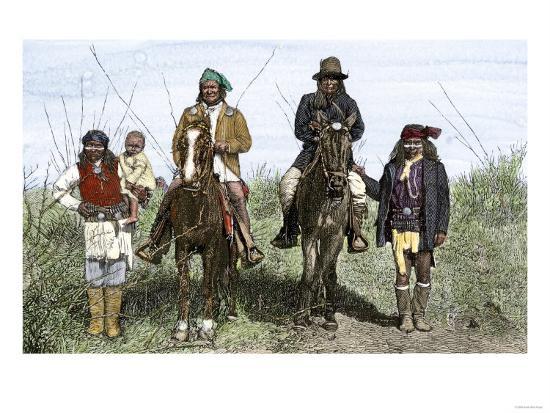 geronimo-and-natchez-on-horseback-during-the-apache-wars-c-1886