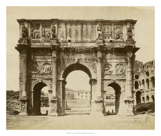 giacomo-brogi-the-arch-of-constantine