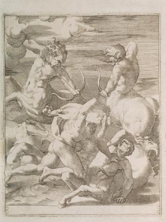 gian-jacopo-caraglio-battle-between-hercules-and-centaurs-1527