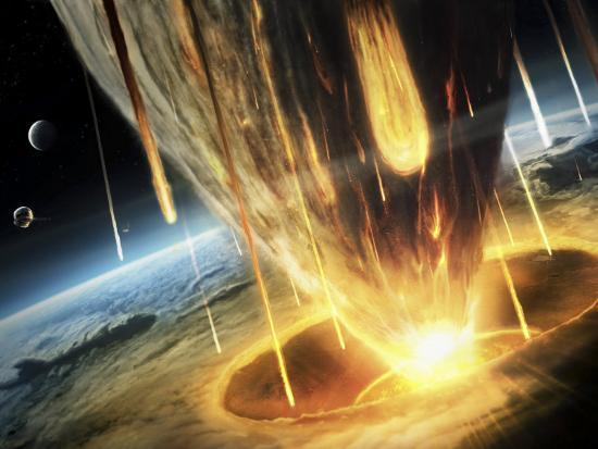 giant-asteroid-collides-with-the-earth