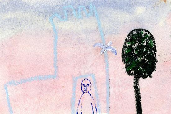 gigi-sudbury-my-castle-a-seagull-and-a-cyprus-tree-2005