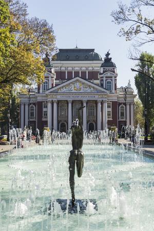 giles-bracher-ivan-vasov-national-theatre-city-garden-park-sofia-bulgaria-europe