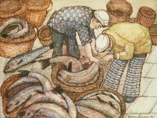 gillian-lawson-gathering-in-the-fish