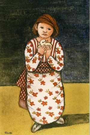 gillian-lawson-girl-with-dove-1986