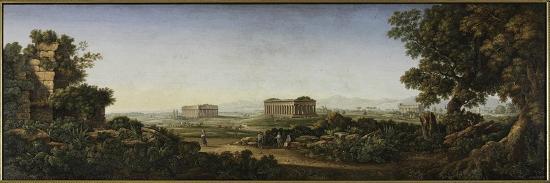 gioacchino-rinaldi-the-ruins-of-paestum-1805-30