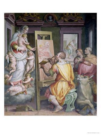 giorgio-vasari-st-luke-painting-the-virgin