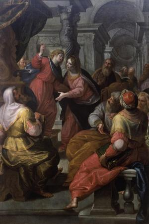 giovanni-andrea-ansaldo-jesus-preaching-to-the-doctors