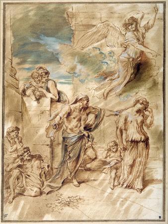 giovanni-benedetto-castiglione-the-expulsion-of-hagar