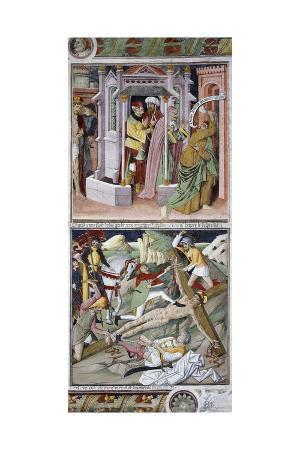 giovanni-canavesio-remorse-of-judas-and-crucifixion