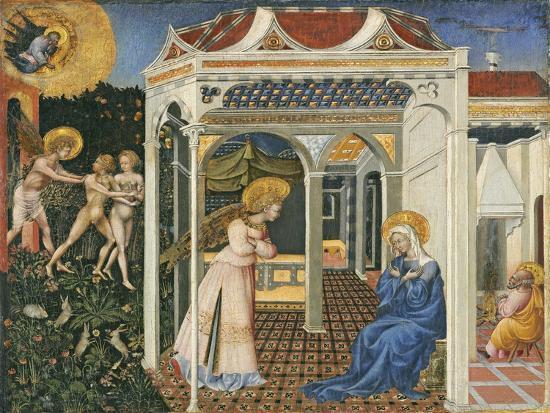 giovanni-di-paolo-di-grazia-the-annunciation-and-expulsion-from-paradise-c-1435