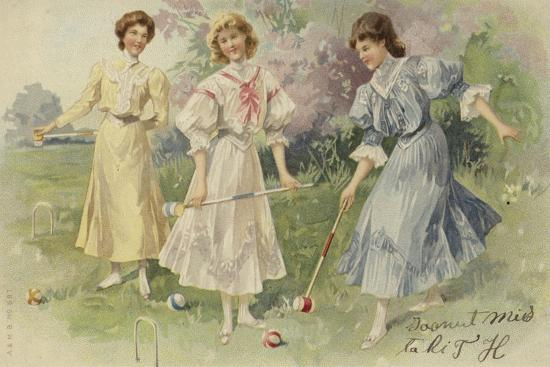 girls-playing-croquet