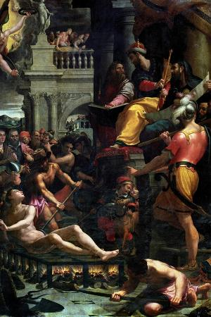 girolamo-macchietti-the-martyrdom-of-st-lawrence-1573
