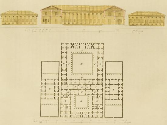 giulio-ferrario-facade-and-part-of-greek-house-showing-greek-usage-1827