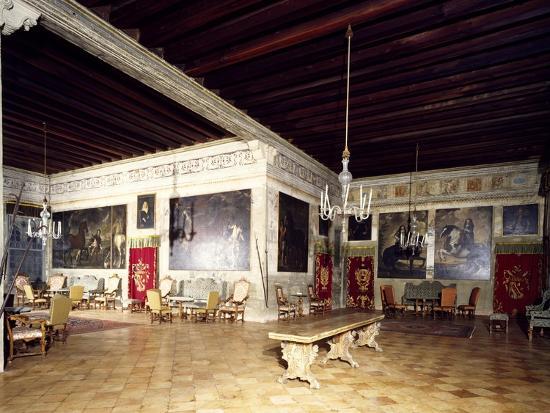 glimpse-of-large-upper-room-of-castle-porto-colleoni-thiene-thiene-veneto-italy