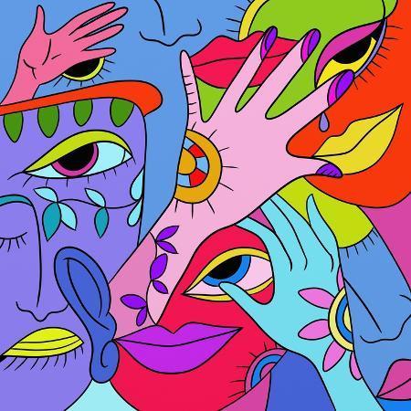 goccedicolore-astratto-con-occhi-e-bocca