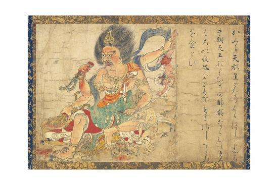 god-of-heavenly-punishment-from-extermination-of-evil-hanging-scroll