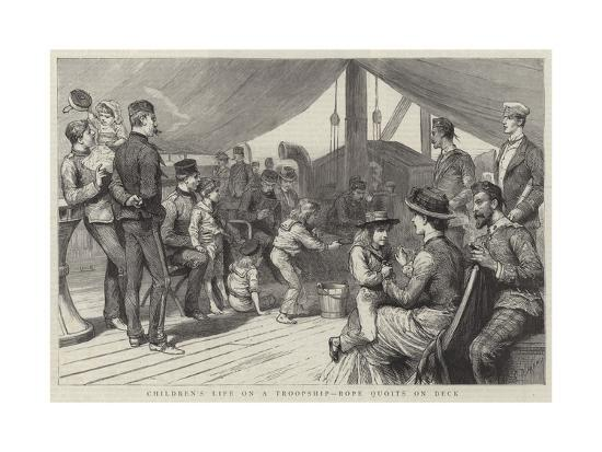 godefroy-durand-children-s-life-on-a-troopship-rope-quoits-on-deck