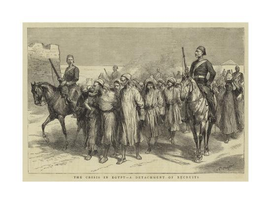 godefroy-durand-the-crisis-in-egypt-a-detachment-of-recruits