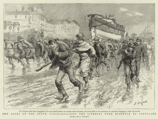 godefroy-durand-the-gales-on-the-south-coast-dragging-the-lifeboat-from-brighton-to-portslade