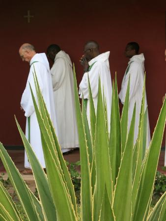 godong-monks-in-keur-moussa-abbey-cloister-keur-moussa-senegal-west-africa-africa