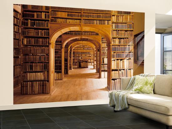Gorlitz Library Interior Wall Mural Large At Art