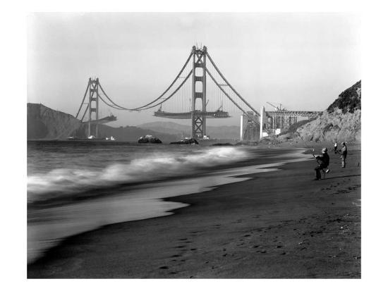 golden-gate-bridge-under-construction-from-baker-beach-c-1936