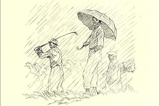 golfing-in-the-rain