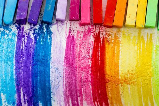 gorilla-colorful-chalk-pastels-education-arts-creative-back-to-school