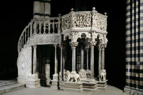 gothic-pulpit-of-the-siena-cathedral-by-pisano