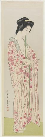 goyo-hashiguchi-woman-in-kimono-undergarment-may-1920