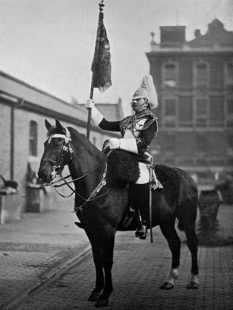 gregory-co-squadron-corporal-major-of-the-1st-life-guards-with-standard-1896