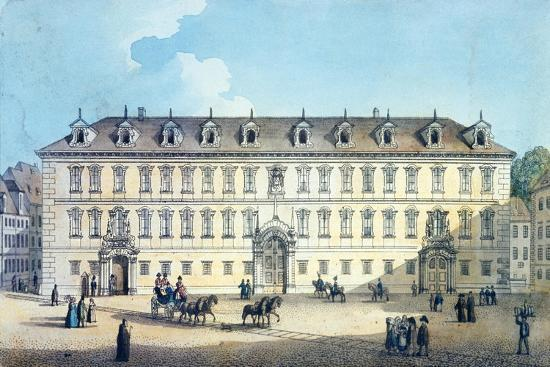 gustav-friedrich-amalius-taubert-wallenstein-palace-c-1830