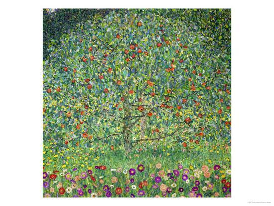 gustav-klimt-apple-tree-1912