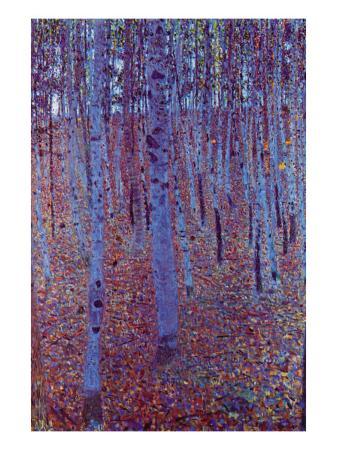 gustav-klimt-beech-forest
