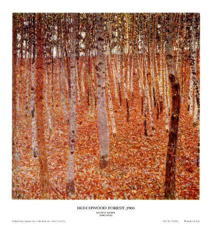 gustav-klimt-beechwood-forest-1903